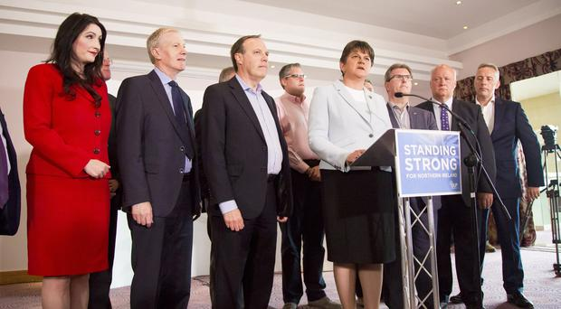 N.Ireland's DUP says talks ongoing with PM May's Conservatives