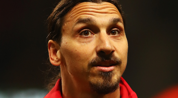 Injured: Zlatan Ibrahimovic will need to find a new club