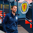 Best behaviour: Gareth Southgate wants England fans to get behind the team