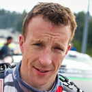 Deja vu: Kris Meeke crashed out of a rally once again