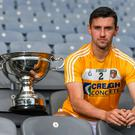 All fired up: Simon McCrory can't wait to get out onto the Croke Park turf and fight for the Christy Ring Cup