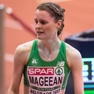 Cruise control: Ciara Mageean retained her 800 metres title