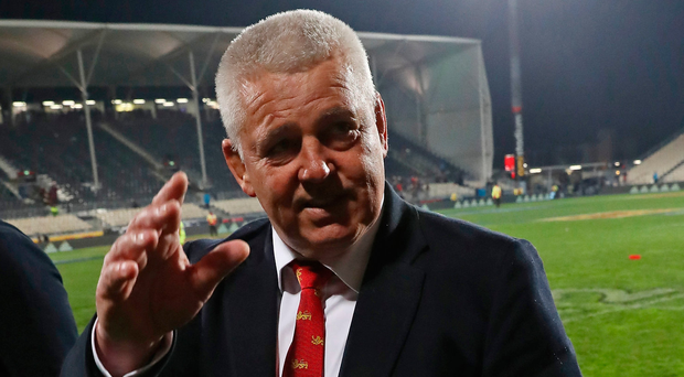 Under cosh: Warren Gatland has copped stick in New Zealand's media