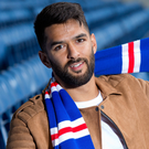 Wing man: Daniel Candeias has signed from Benfica