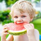 Tasty option: a third of parents worry about giving their young children the right balance of foods