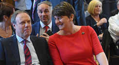 Arlene Foster and Nigel Dodds of the DUP now have a very strong hand to play