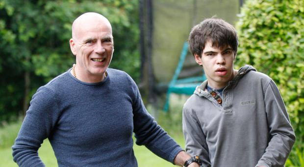 Loving dad: Matthew Milliken with his son Oliver