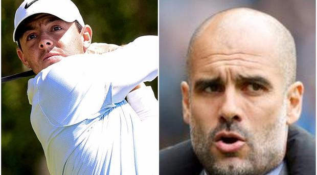 Rory McIlroy and Pep Guardiola will come together to open Dubai Duty Free Irish Open week at the Waterfront Hall.