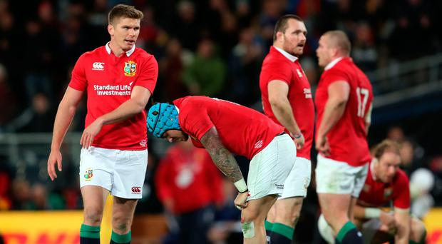 Lions Lose Narrowly To The Highlanders In Breathtaking Game In Dunedin