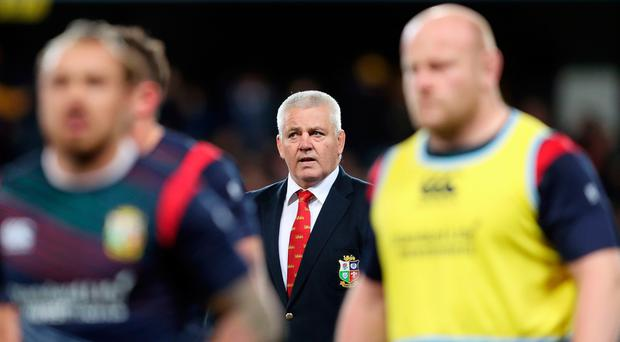 British and Irish Lions head coach Warren Gatland has much to ponder after the second defeat of the tour of New Zealand.
