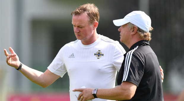 High praise: Northern Ireland assistant Jimmy Nicholl believes the world is manager Michael O'Neill's oyster after the superb job he has done with the national team. Photo: Colm Lenaghan/Pacemaker