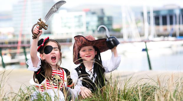 Let your little pirate loose at the Belfast Titanic Maritime Festival this weekend.