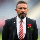 Wanted: Aberdeen boss Derek McInnes is Black Cats' target. Photo: Ian MacNicol/Getty Images