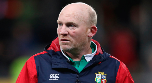 Raging: Neil Jenkins is ready to meet match officials. Photo: David Rogers/Getty Images