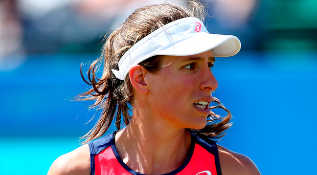 Johanna Konta through to final of Aegon Open in Nottingham