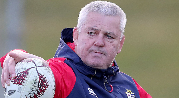 Warren Gatland: 'Sam Warburton fighting for starting spot'