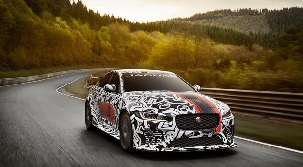Jaguar has revealed its most powerful road legal car ever in the form of the XE SV Project 8.