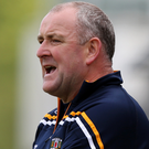 Rallying call: Antrim co-manager Frank Fitzsimons