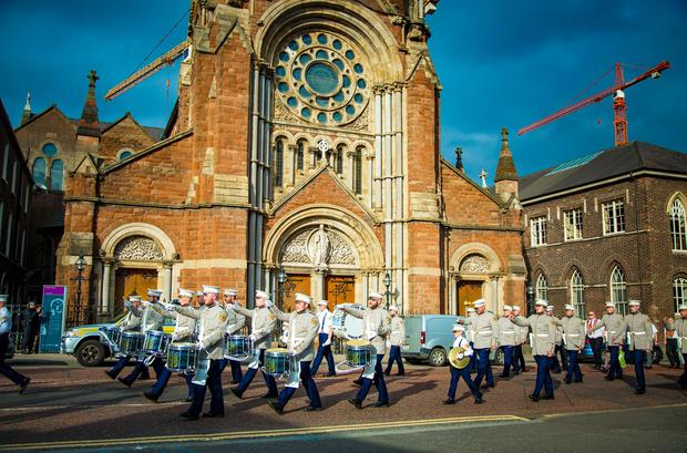 The Tour of the North passes off peacefully as it makes its way around Belfast on June 16th 2017 (Photo by Kevin Scott / Belfast Telegraph)