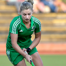On target: Chloe Watkins scored in Ireland's defeat