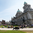 Fears are growing that Belfast City Hall is becoming a hub for illicit drugs activity after it was claimed a heroin addict was seen 'shooting up' in a toilet