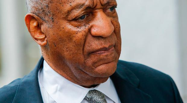 Bill Cosby arrives on the sixth day of jury deliberations of his sexual assault trial at the Montgomery County Courthouse on June 17, 2017 in Norristown, Pennsylvania. Pic Getty