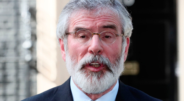 Sinn Fein leader Gerry Adams is a fan of Animal from The Muppet Show