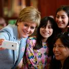 Nicola Sturgeon attends Glasgow Women's Library at the weekend