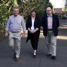 Councillors Boyle, Mullan and Convery yesterday