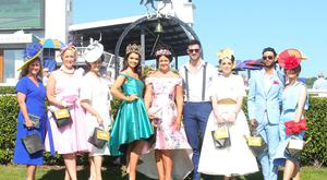 Press Eye Belfast - Northern Ireland 18th June 2017 Horse racing at Downpatrick Racecourse, Co. Down - Style Sunday. All the winners from style Sunday Picture by Jonathan Porter/PressEye.com