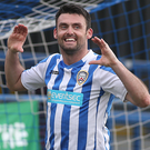 Coleraine's Eoin Bradley could come up against Lech Poznan this summer.