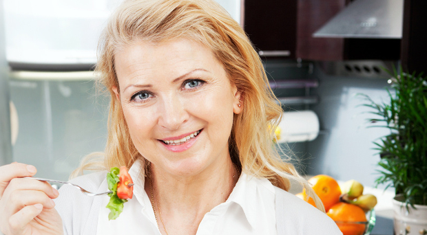 Good nutrition can help with some of the unwelcome symptoms associated with the menopause