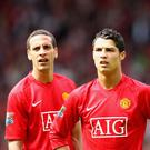 Rio Ferdinand (left) admits he would love to see his former team-mate Cristiano Ronaldo return to Manchester United.