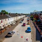 The Village area of south Belfast, a predominantly loyalist estate that is close to Windsor Park