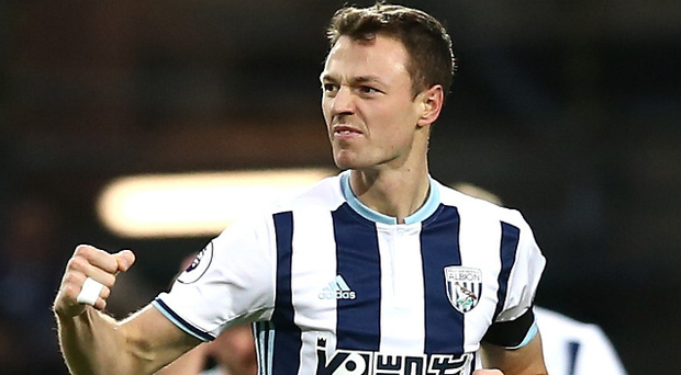 West Brom are keen to keep hold of centre-half Jonny Evans as Leicester step up their interest.