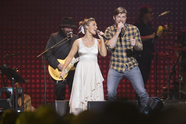 Clare Bowen and Chris Carmack. (Rollins PR)