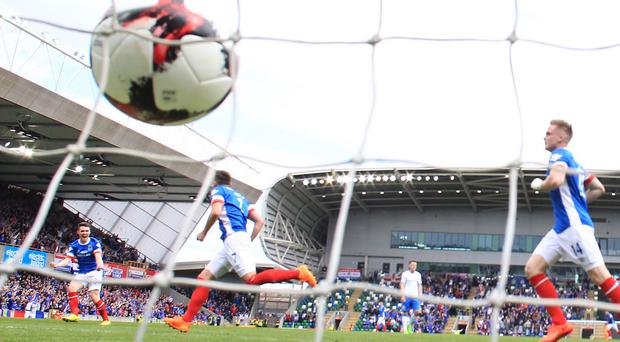 Linfield and Celtic are due to clash at Windsor Park in July, providing Linfield overcome their first qualifying round opponents.