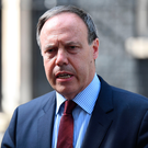 Nigel Dodds, deputy leader of the Democratic Unionist Party