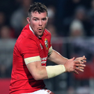 Leading man: Peter O'Mahony will captain the British and Irish Lions in the first Test against New Zealand