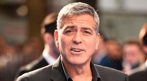 George Clooney attending the European premiere of 'Tomorrowland: A World Beyond' in London in May. [Photo: Neal Leon, AFP/Getty Images