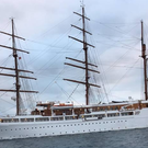 The unique Sea Cloud II visits Belfast on Thursday.