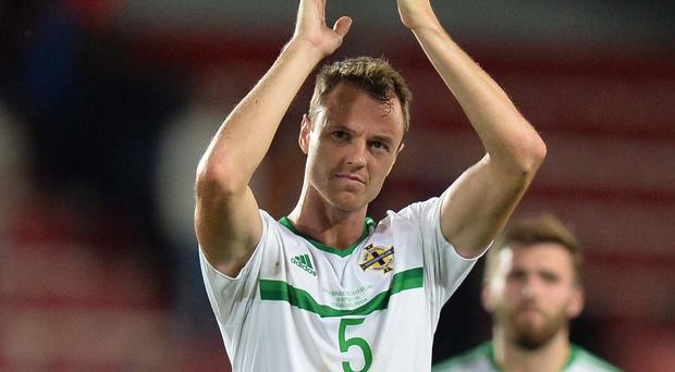 Strong relationship: Northern Ireland ace Jonny Evans