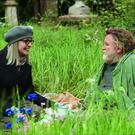 Grass act: Diane Keaton with Brendan Gleeson in Hampstead