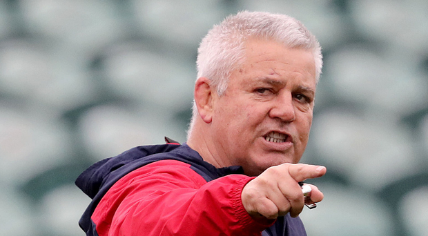 Ready to go: Warren Gatland has a plan to defeat All Blacks