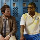 Charlie Day as Andy Campbell and Tracy Morgan as Coach Crawford. Photo: PA Photo/Warner Home Video