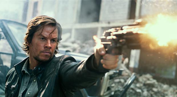 Top gun: Mark Wahlberg in Transformers