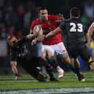 Battering ram: Ben Te'o has promised to play to his strengths against New Zealand in Auckland