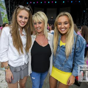 Festival goers out for the 5th night of Belsonic to Jess Glynn, and support act Martin Jensen, at the Ormeau Embankment, Belfast. Thursday 22nd June 2017 Liam McBurney/RAZORPIX