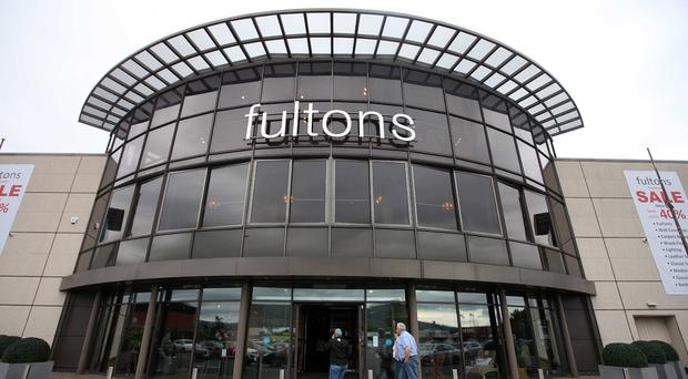 The former Fultons shop at Boucher Road in Belfast