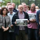The Respect Shared Space Rally saw people congregate at Cherryvale Park on the Ravenhill Road. Photo by Matt Mackey / Press Eye. 23rd June 2017